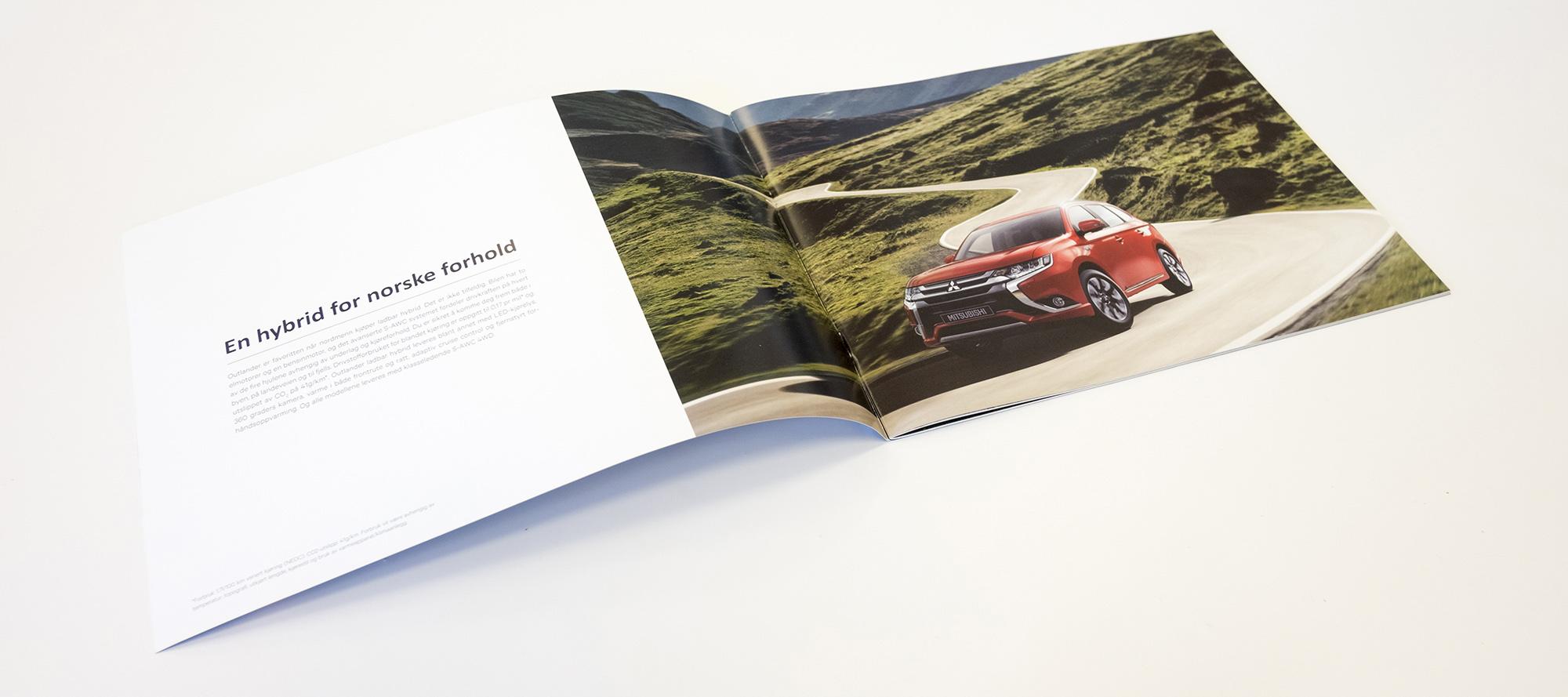 Mitsubishi Outlander PHEV brosjyre